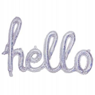Balão foil Hello