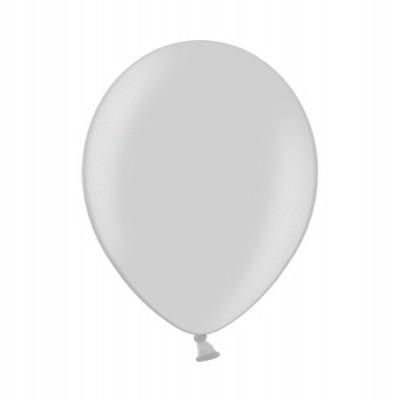 """Balão latex 12""""  Prateado metalizado"""
