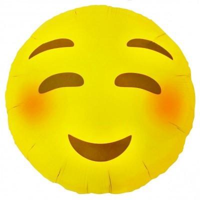 Emoji Emoji Blushing 46cm