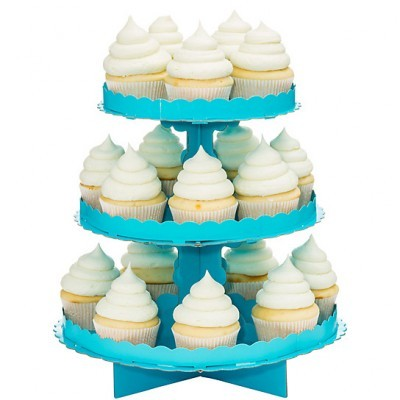 Stand Cupcakes azul