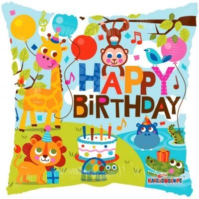 Balão happpy  birthday 46cm
