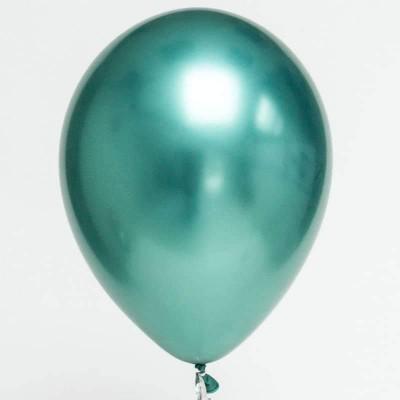 Balão chrome verde menta