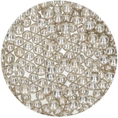 Pérolas L prata metálico 75g