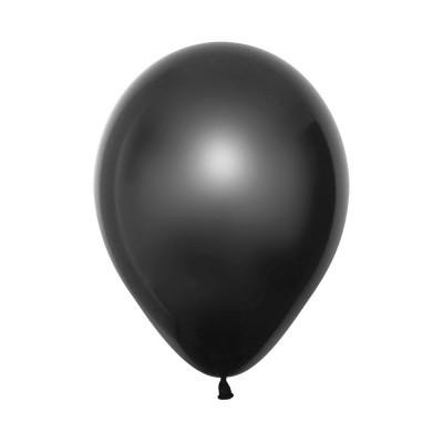 Balão latex preto