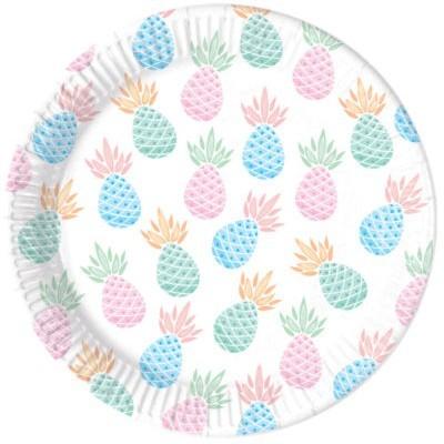 8 Pratos ananás