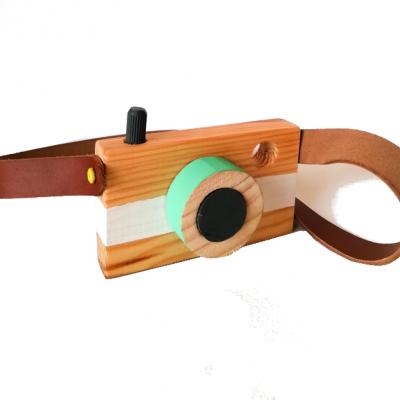 Máquina Fotográfica madeira
