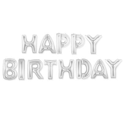 "Balões ""HAPPY BIRTHDAY"""