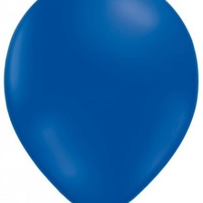 "Balão latex 12"" azul escuro"