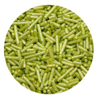Granulado Verde brilhante 250g
