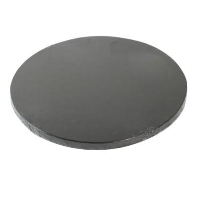 Base redonda - Preta - 25cm