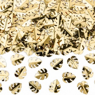 Confetti folhas ouro metálico