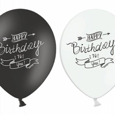 Balão latex Happy Birthday