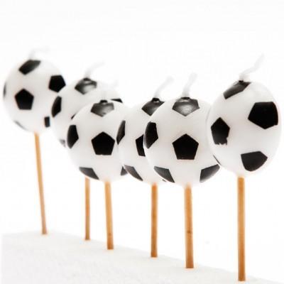 4 Velas Bolas de Futebol