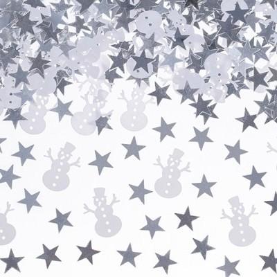 Confetti Boneco de neve