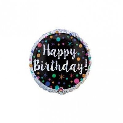 Balão foil happy birthday