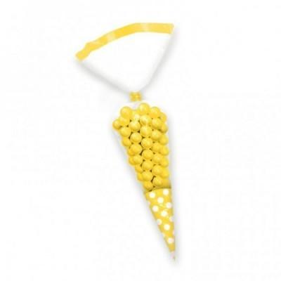 Sacos cones amarelo
