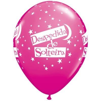 Balão latex impresso despedida de solteira