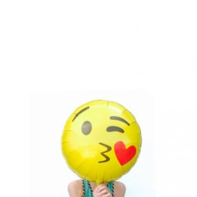 Emoji Emoji Kissing Heart Round