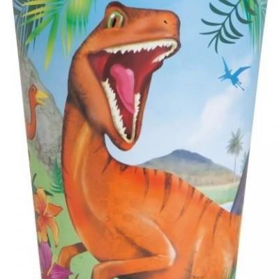 8 Copos dinossauro