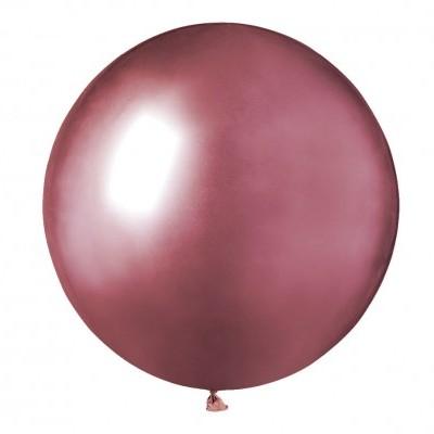 Balão latex 48 cm Chrome Rosa