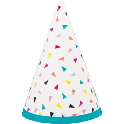 8 Chapéus triângulos