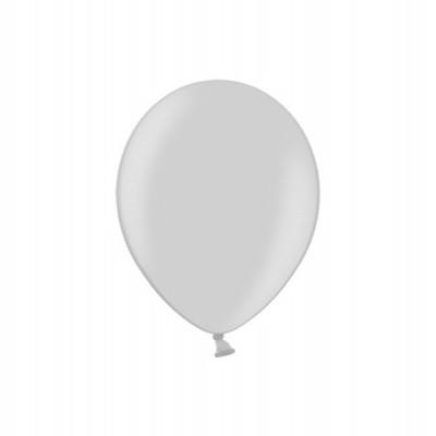 Balão latex 12cm Prateado