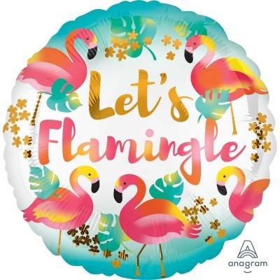 Balão foil Flamingo 43cm
