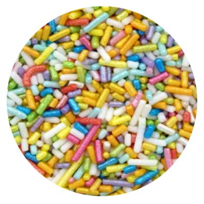 Mix Granulado Colorido Brilhante 250g