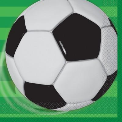 16 Guardanapos futebol