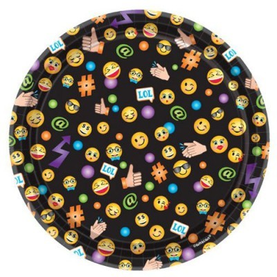 Pratos emoji 20cm