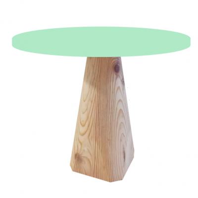 Base de madeira cónico L