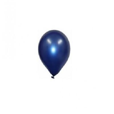 Balão azul cobalto metalizado