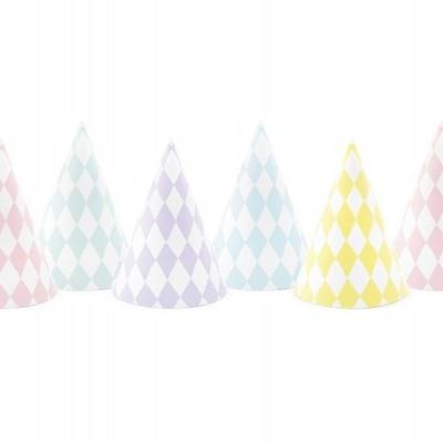 6 chapéus pastel