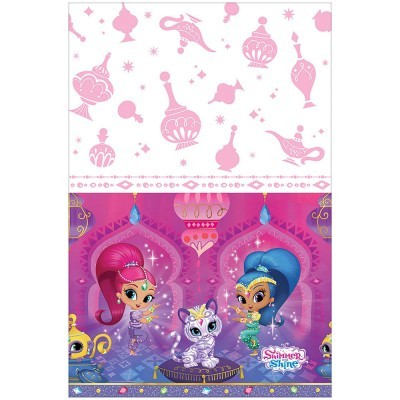 Toalha de mesa shimmer and shine