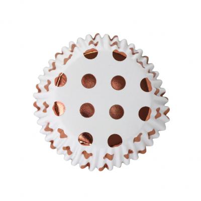 Forma Cupcake bolas Rosegold