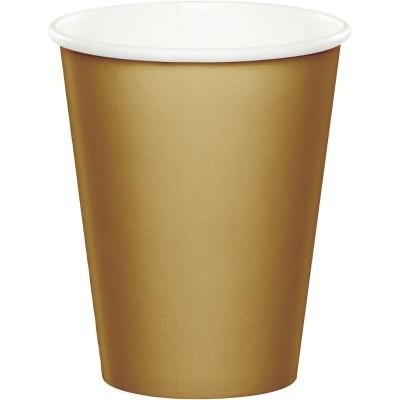 14 copos dourado