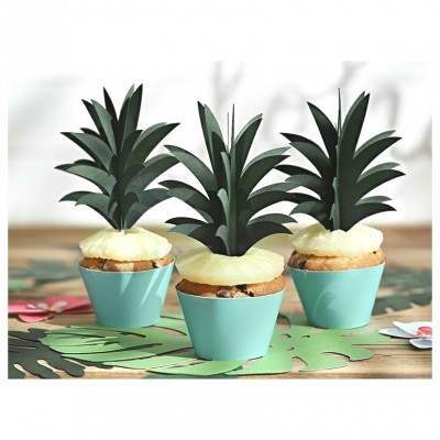 Cupcake wrapper - Aloha x6