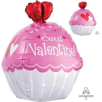 Balão cupcake S. Valentim