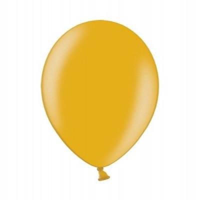 """Balão latex 12""""  Dourado metalizado"""