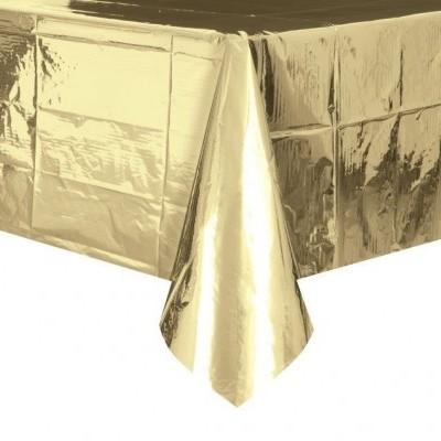 toalha dourada foil