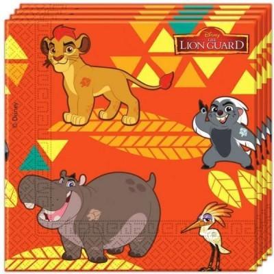 Guardanapos guarda do leão