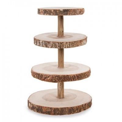 Stand Cupcakes em madeira