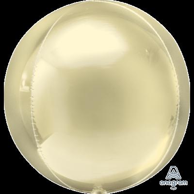 Balão orbz ombre amarelo pastel 38cm