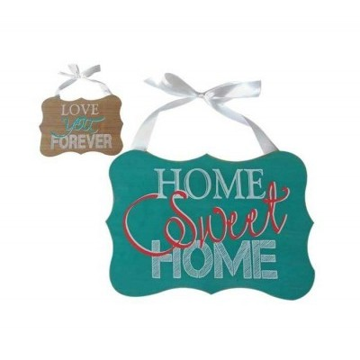 Placa Home Sweet Home / Love you Forever