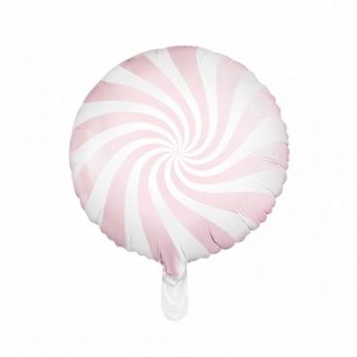 Balão candy rosa bebé 45cm