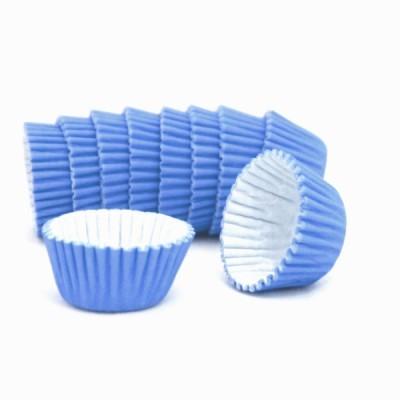 Formas cupcake azul escuro x100