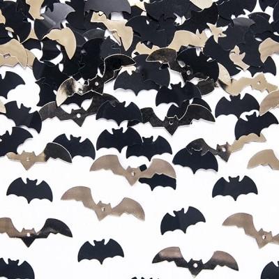 Confettis metálicos morcegos