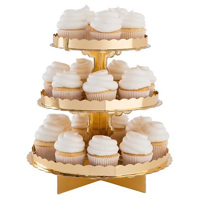 Stand Cupcakes Ouro