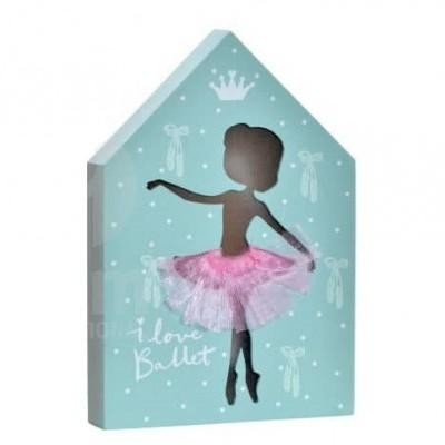 Casa luminosa bailarina