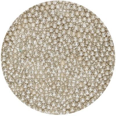 Pérolas S prata metálico 75g